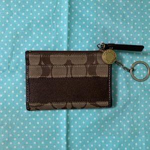 Coach card/ID holder